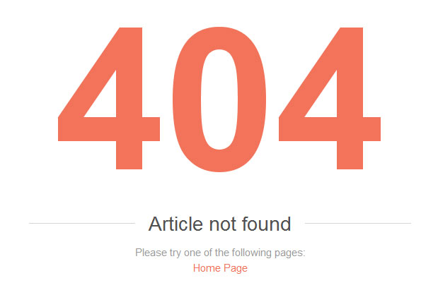 Keep Shoppers Engaged with User-Friendly 404 Error Pages