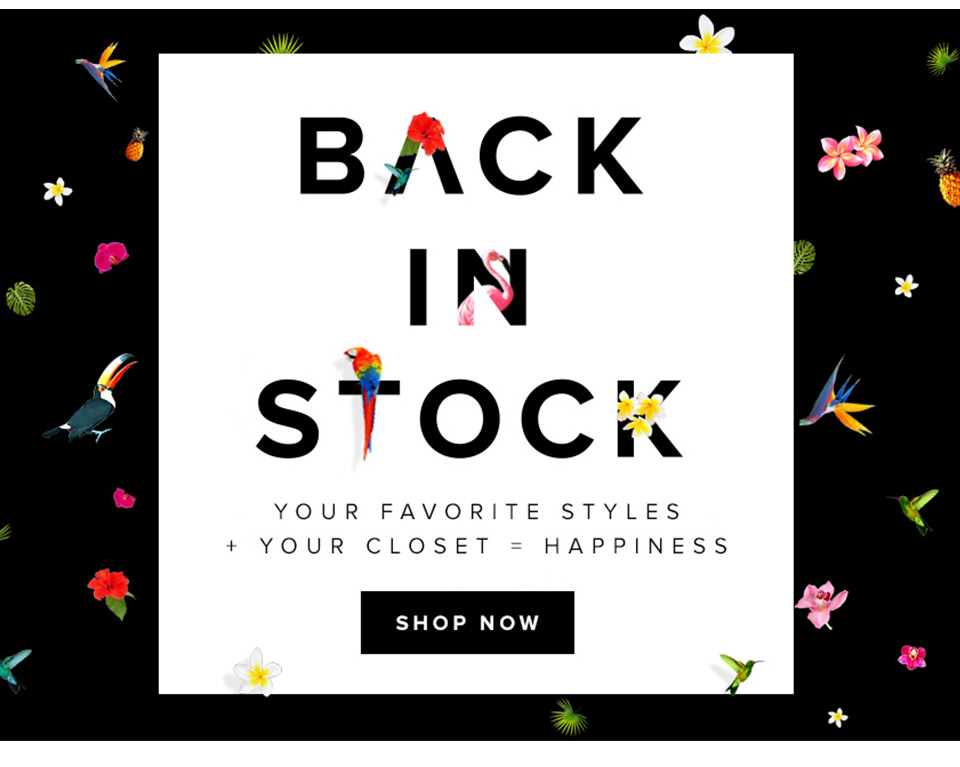 Re-Engage Shoppers with Back in Stock Notifications