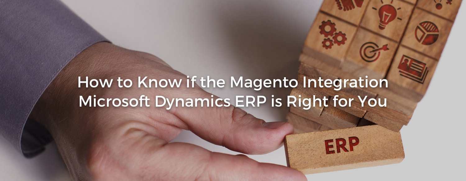 Magento Integration Microsoft Dynamics ERP Overview