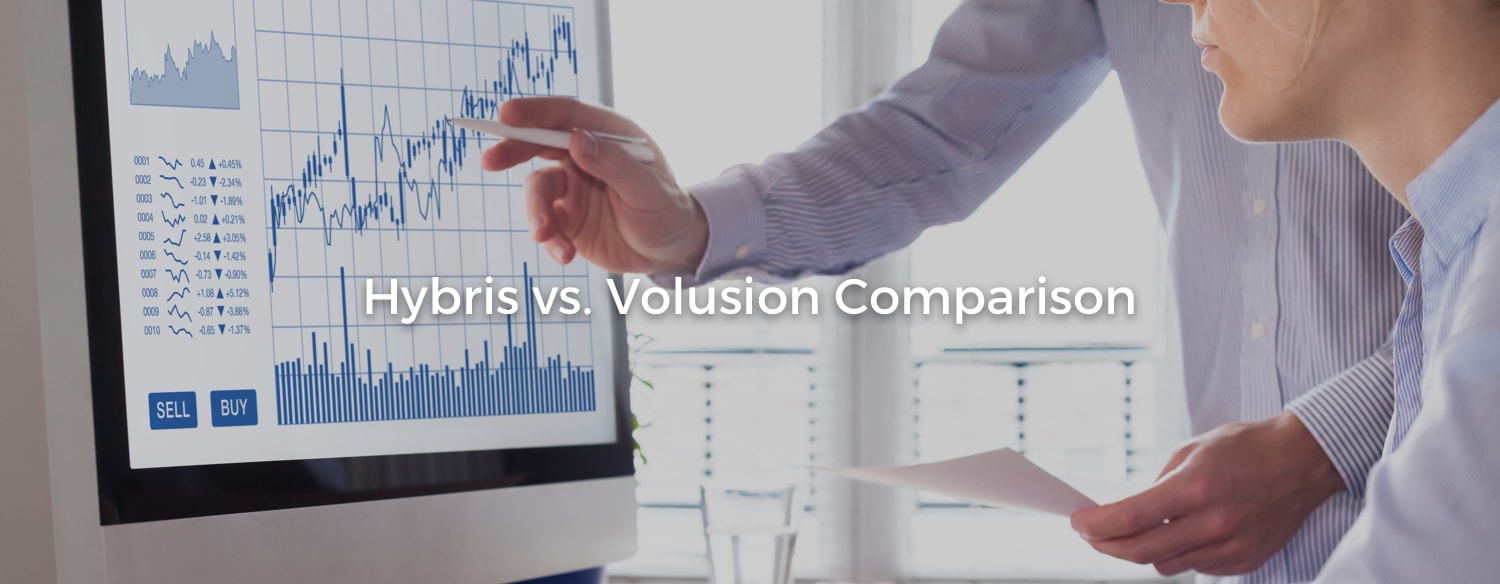 Hybris compared to Volusion
