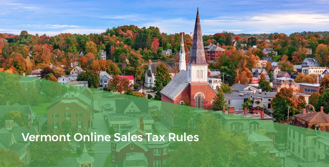 New England Skyline - Vermont Online Sales Tax Rules