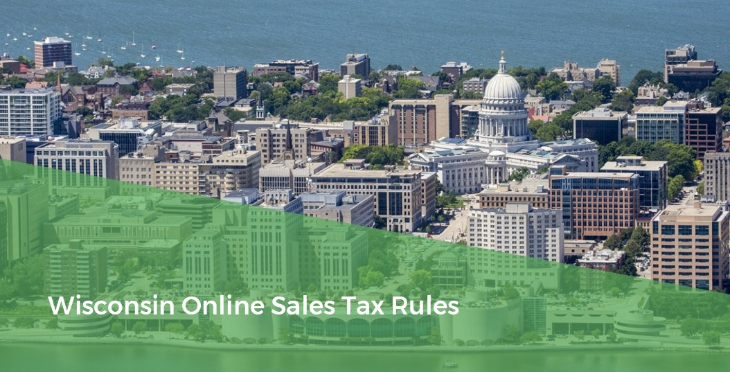 City Skyline - Wisconsin Online Sales Tax Rules
